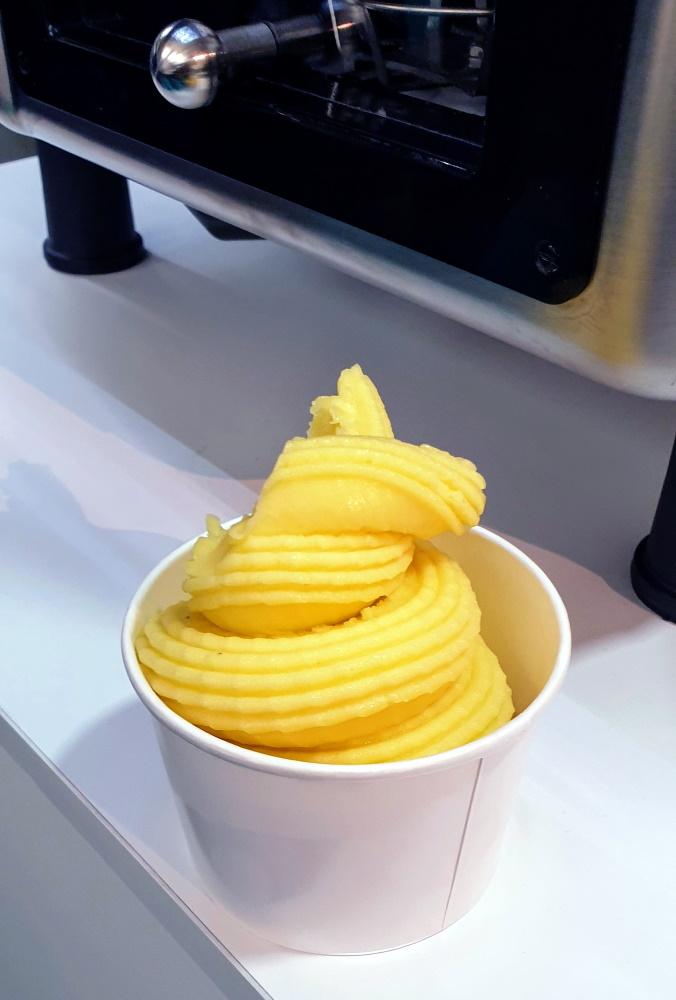 Sorbetto naturale di mango