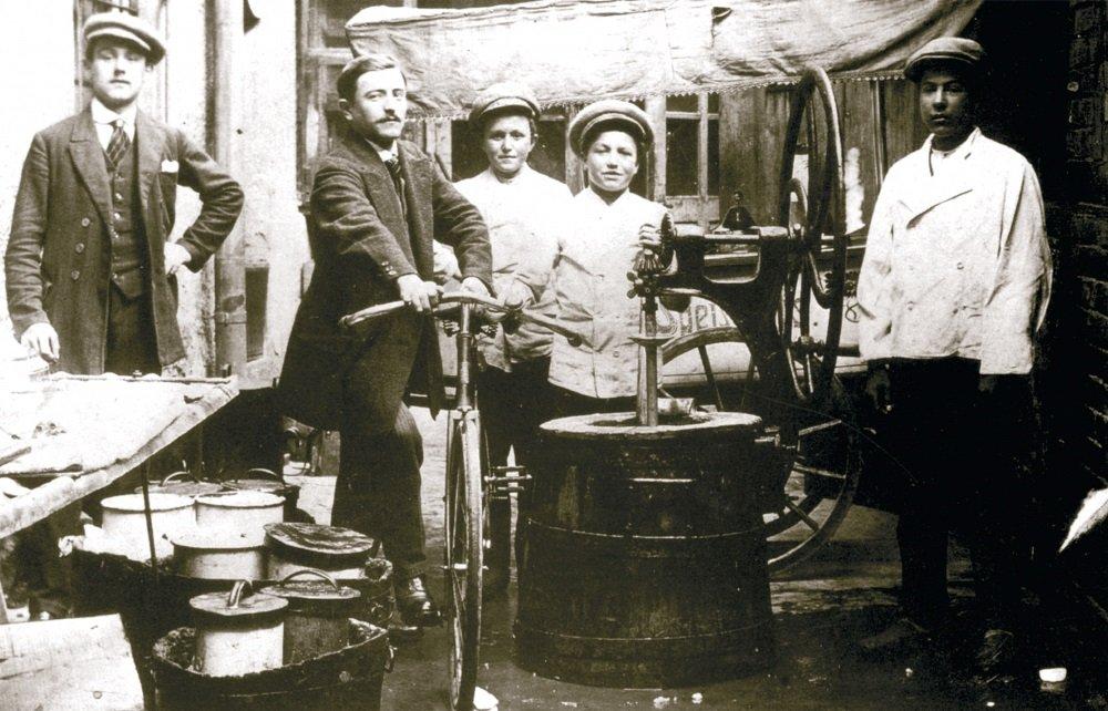 Gelatieri a Vienna, 1900