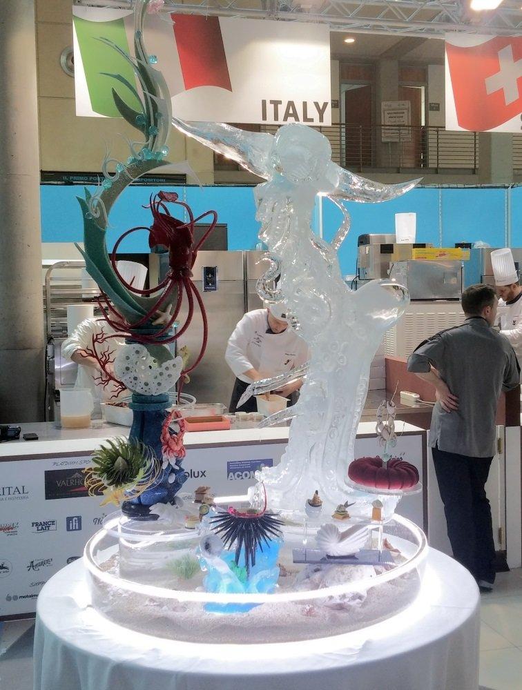 Coppa del Mondo della Gelateria gran buffet Italia 2016